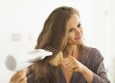 Hair Care Tip Blow-Dry with a Brush