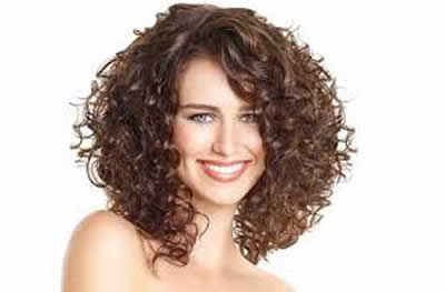 Hairstyles for Summer Curly Bangs
