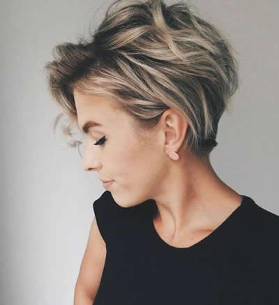 Hairstyles for Summer Long Pixie
