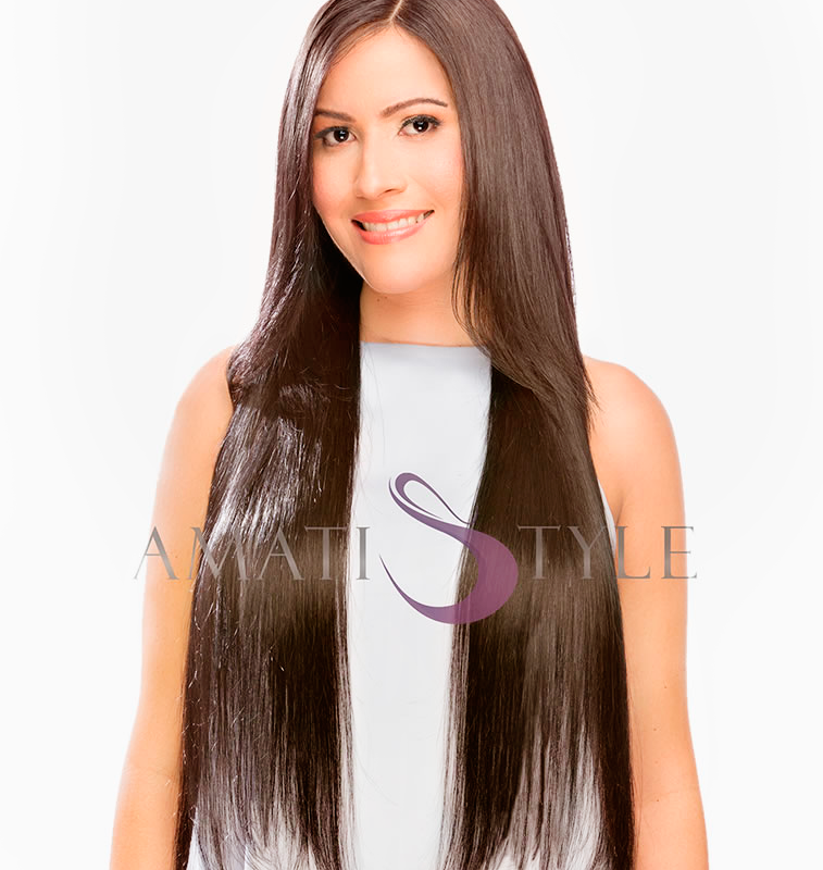 Hair Extensions for Sale - Chocolate Brown 4