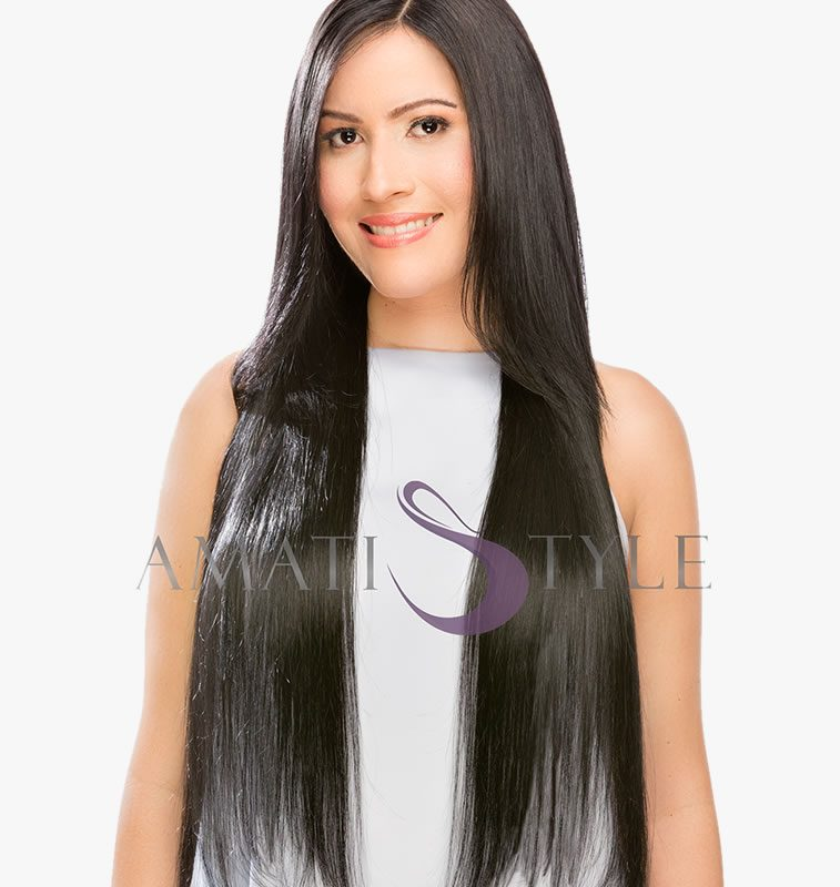 Remy Hair Extensions for Sale JET BLACK 1