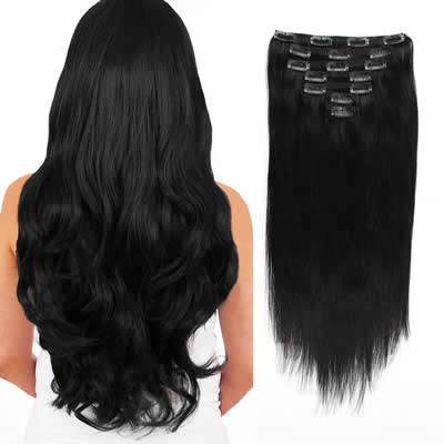 Type of Hair Extensions Clip-in
