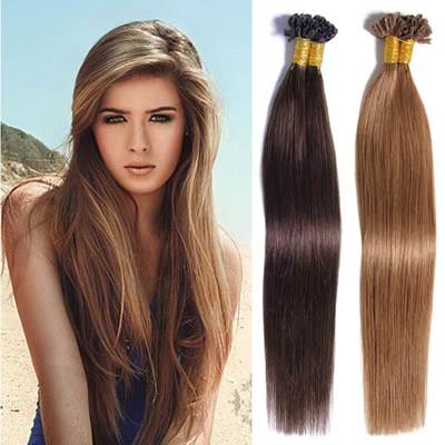Type of Hair Extensions Fusion & Pre-Bonded