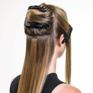 Type of Hair Extensions Tape-In