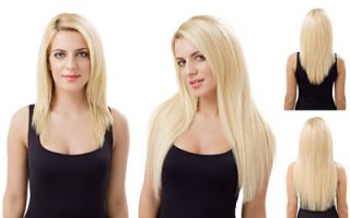 How to wear extensions with short Hair