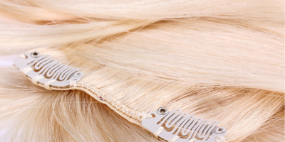 How to wash clip-in hair extensions