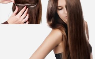 How to Sew in Hair Extensions