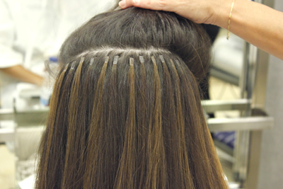 What are keratin extensions