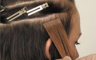 How to care for tape in hair extensions