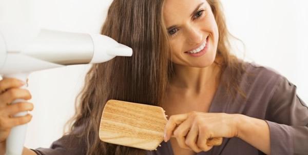 Tips para cuidar el cabello Secarte el cabello
