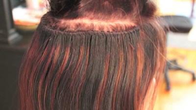 Como cuidar las extensiones de cabello cosidas