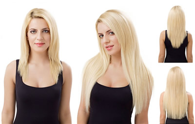 Como usar extensiones en pelo corto