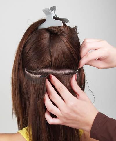 Venta de extensiones de cabello natural cosidas en caracas venezuela
