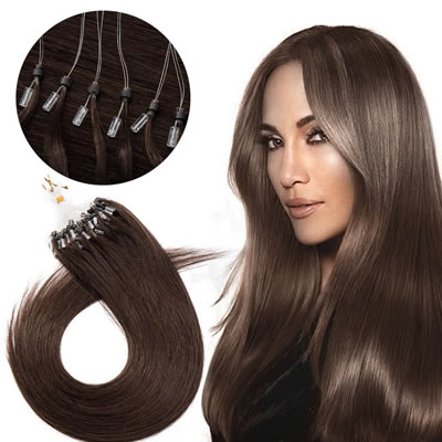 Venta de extensiones de cabello natural de aro o micro ring en caracas venezuela