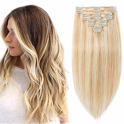 Venta de extensiones de cabello natural de clip en caracas venezuela
