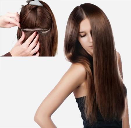 Como coser extensiones de cabello