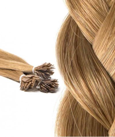 Extensiones de cabello con keratina cuidados