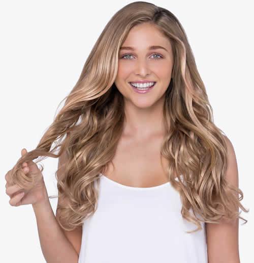 Cómo elegir extensiones de cabello color blonde