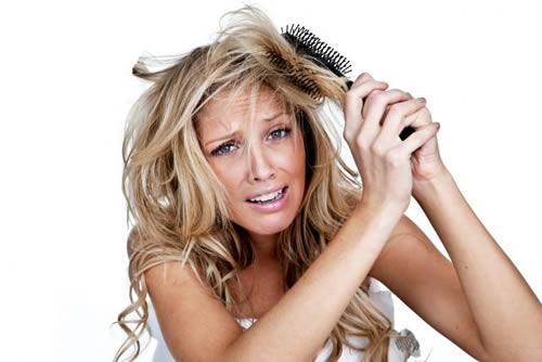 Como evitar el enredo del cabello