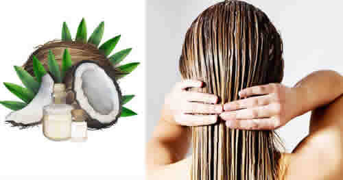 Aceite de coco para el crecimiento del cabello