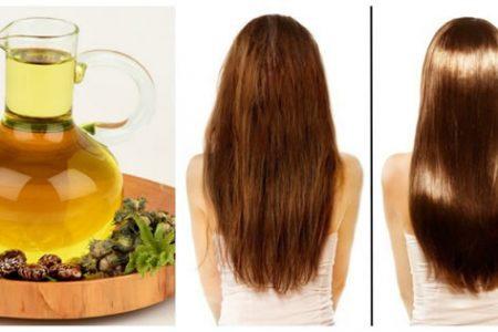 Aceite de argán para el crecimiento del cabello