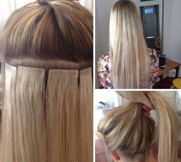 Como cuidar la cinta adhesiva para extensiones de cabello