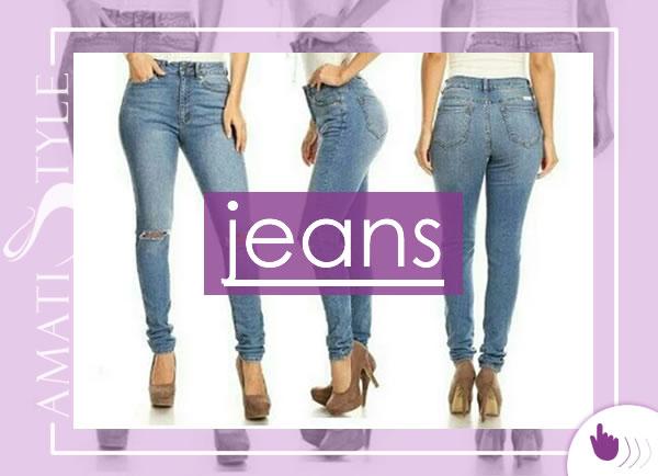 Venta de Jeans de Moda para Mujer en Venezuela