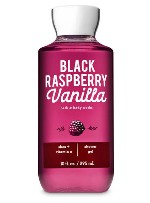 Gel de Ducha o Baño para Mujeres Black Rasberry BBW