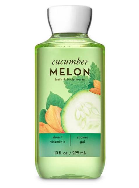 Gel de Ducha o Baño para Mujeres Cucumber Melon BBW