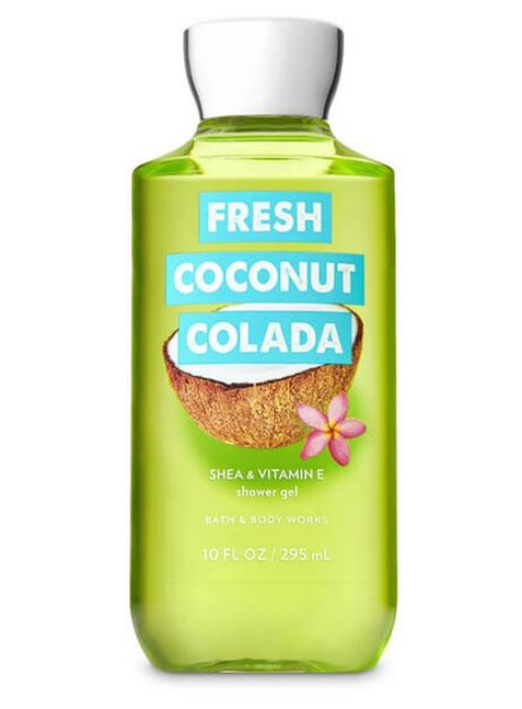 Gel de Ducha o Baño para Mujeres Fresh Coconut Colada BBW