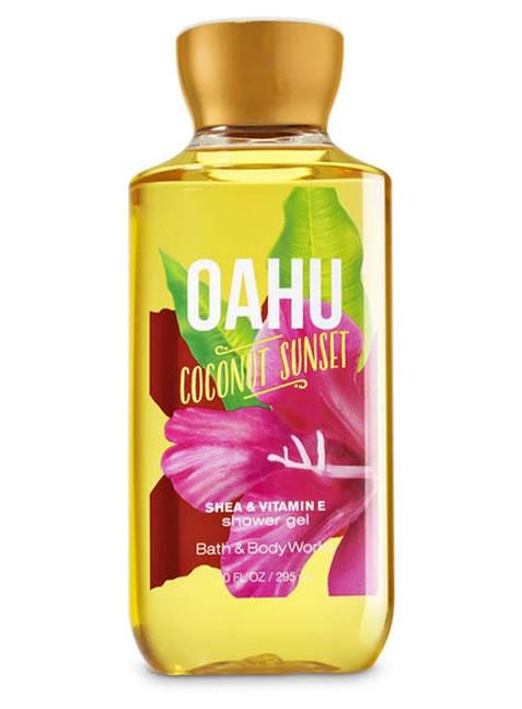 Gel de Ducha o Baño para Mujeres Oahu Coconut Sunset BBW