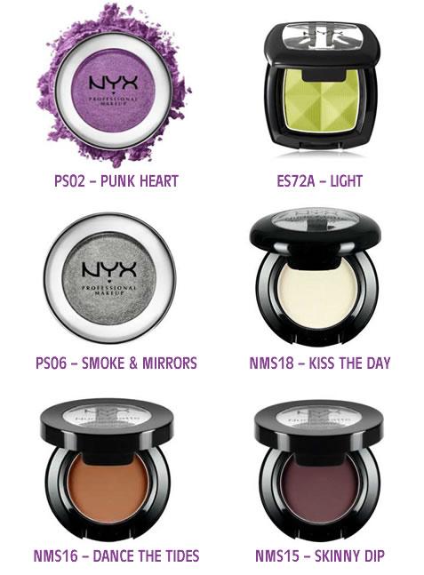 Sombras Maquillaje para Ojos Individuales NYX