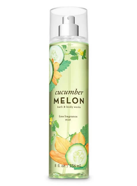 Splash de Bath and Body Works Cucumber Melon