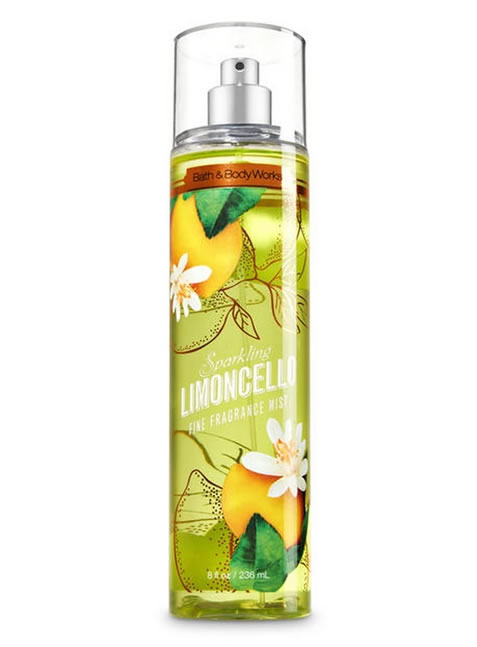 Splash de Bath and Body Works Limoncello