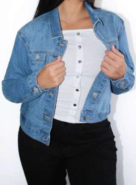 Venta de Chaquetas para Mujer Online Jean 90167