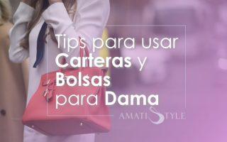 Tips para usar Carteras y Bolsas para Dama