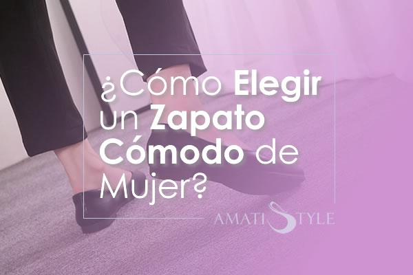 Cómo Elegir un Zapato Cómodo de Mujer