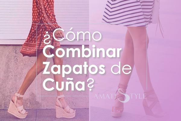 Cómo Combinar Zapatos de Cuña para Mujer