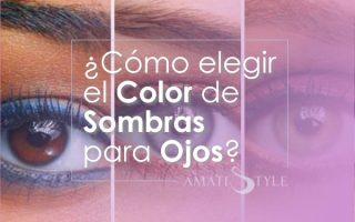 Cómo elegir el color de sombras para ojos