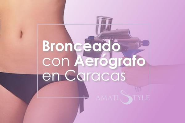 Bronceado con Aerógrafo en Caracas