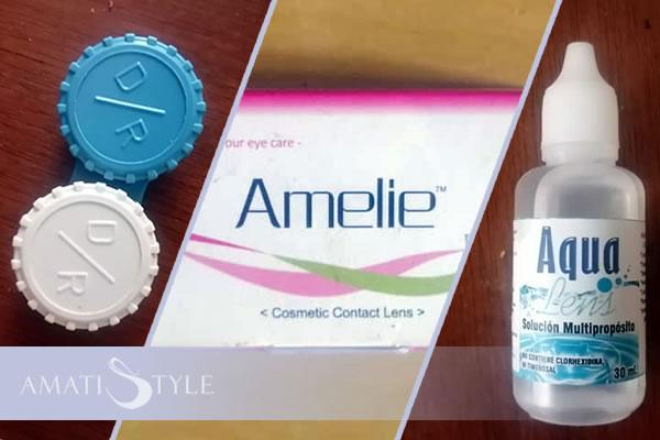 Venta de lentes de contacto Amelie en Caracas