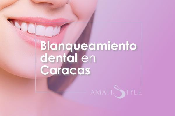 Blanqueamiento dental en Caracas