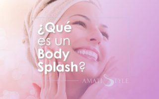 Qué es un Body Splash