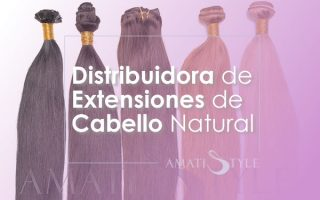 Distribuidora de extensiones de cabello natural Colombia